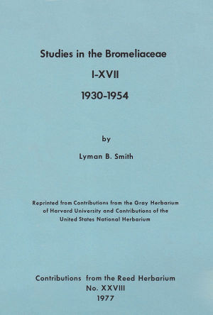 Smith - Studies in the Bromeliaceae I-XVII.jpg