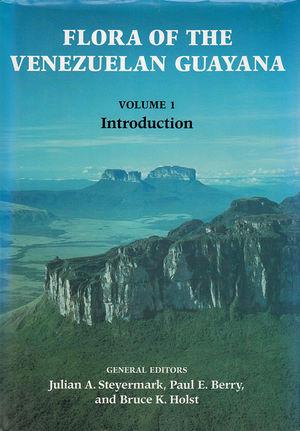 Flora of the Venezuelan Guyanas Vol 1.jpg