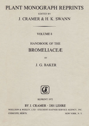 Baker - Handbook of the Bromeliaceae.jpg