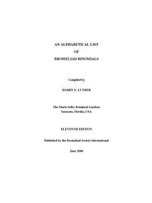 Luther - An Alphabetical List of Bromeliad Binomials - XI.jpg
